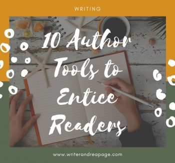 10 Author Tools to Entice Readers