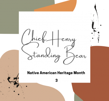 Henry Standing Bear title