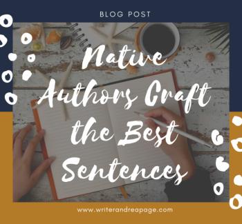 Native Authors Craft the Best Sentences