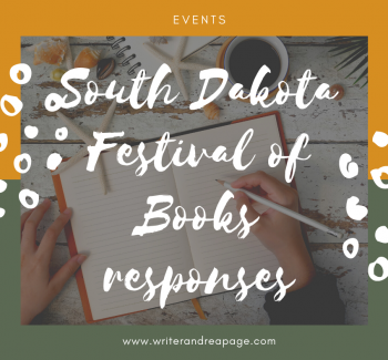 South Dakota Festival of Books responses