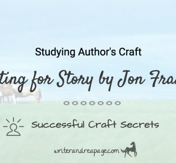Writing for Story by Jon Franklin post