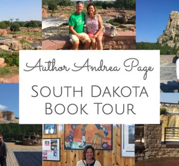 author andrea page SD book tour